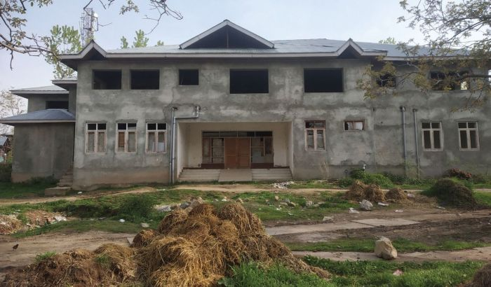 Work began in 2010, funds lapsed in 2014, PHC building incomplete since
