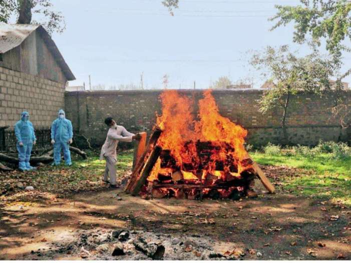 Cow dung to be used for cremation of bodies in Delhi
