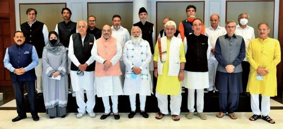 J&K leaders come out hopeful after 'cordial' meeting with PM