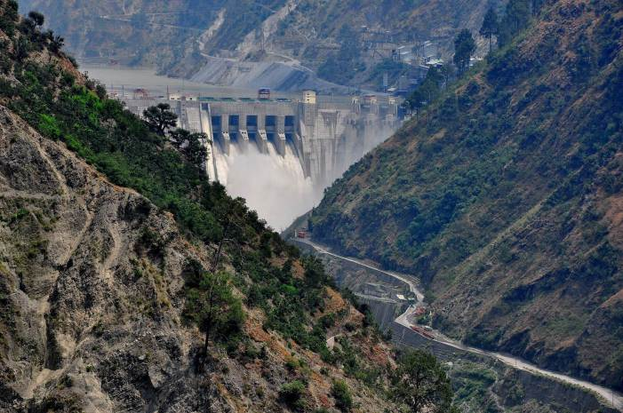 NHPC Dulhasti Power Station: Management warns public not to move near Chenab river from Wednesday