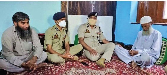 DGP visits family of cop killed in militant attack