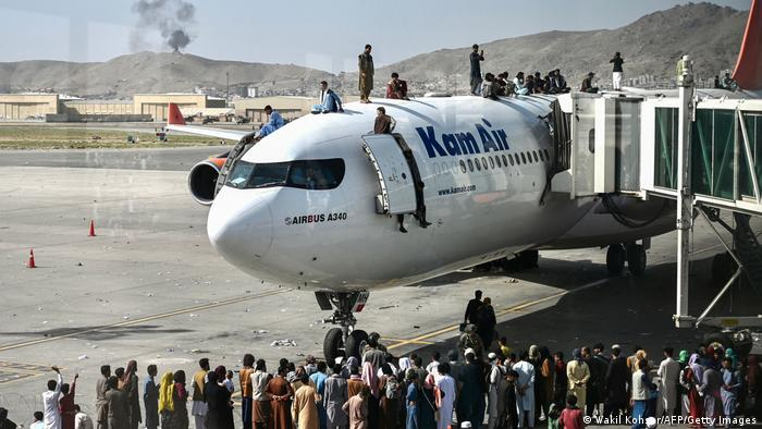 US officials say 7 killed in Kabul airport chaos