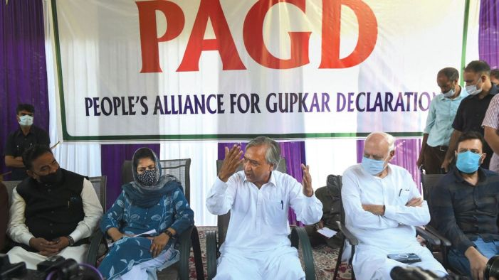 PAGD in belligerent mood, says consequences of 'humiliating' people of J&K will be 'dangerous'