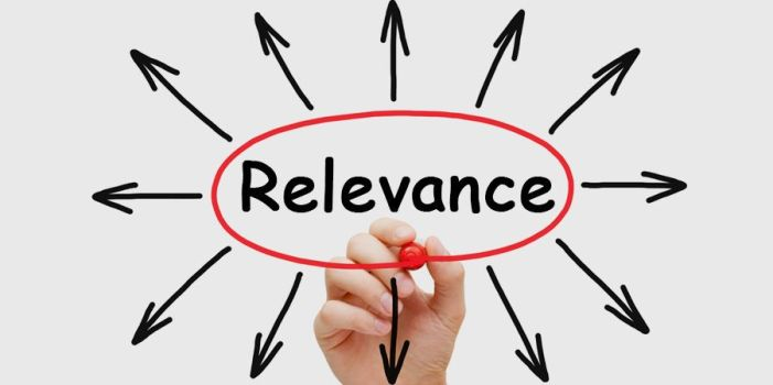 Choosing a Research Topic: Relevance should be priority
