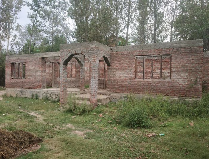 Village in Beerwah awaits completion of Panchayat Ghar construction that began in 2012