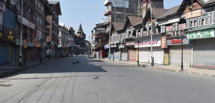 Life remains paralysed in Valley for third day
