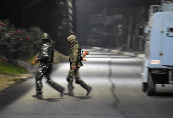 Authorities in Kashmir imposed restrictions and suspended internet services