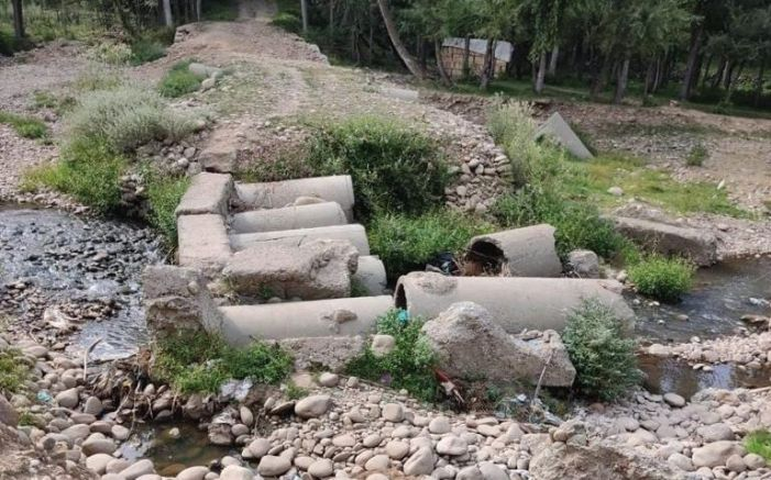 Village in Imamsahib suffers from lack of connectivity, govt apathy
