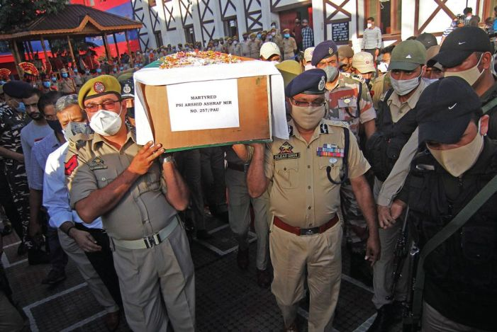 Young police officer shot dead at point-blank range in Srinagar