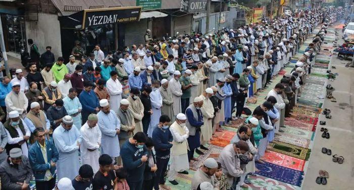 Khawaja Digar prayers saw massive participation