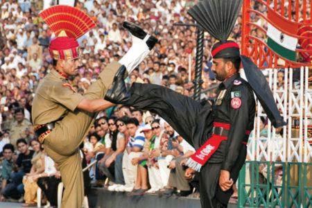 Wagah-Attari-style 'retreat ceremony' along Jammu border rekindles hope for peace