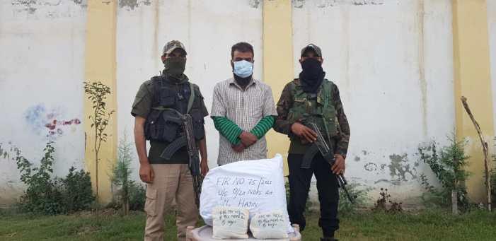 Hardcore Narcotic Drug Peddler Arrested in Hajin, contraband substance recovered