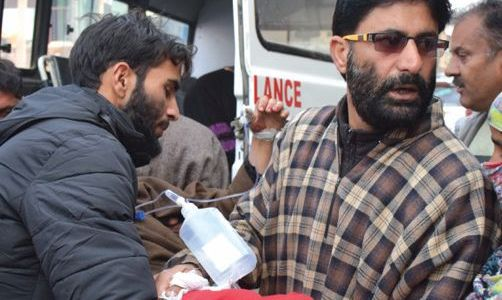 Two women including 10 others injured in clashes