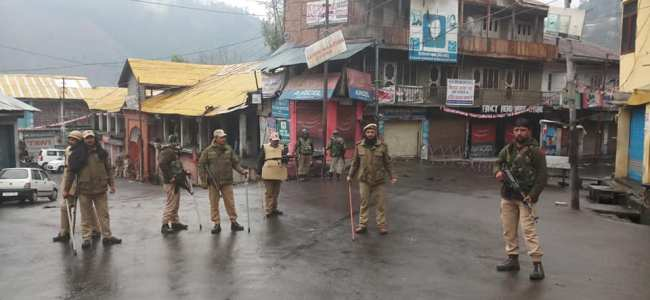 Curfew remains imposed for fifth day in Kishtwar