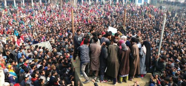 Azad joined militant ranks in 2016, says family