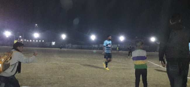 Sopore: Night football tourney concludes, Baba Raza Football Club clinches final victory