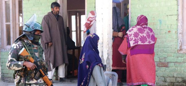 Jammu and Kashmir: Voting begins for the 5th phase of panchayat elections