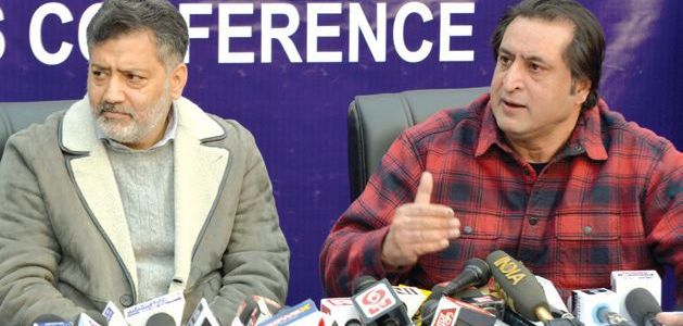 Sajjad Lone to go it big in assembly polls