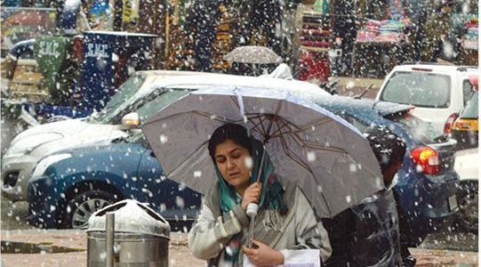 Widespread rains, snowfall likely from Nov 12 to 14 across Kashmir: MeT