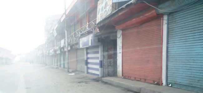 Sopore shuts for second straight day over local militant's killing
