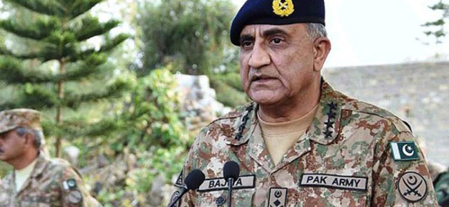 Pakistan's Army chief asks India to adopt 'dialogue for peace' instead of 'provocative statements, ceasefire violations'