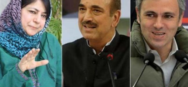 Negotiations underway between NC-PDP-Cong over government formation: Ghulam Nabi Azad