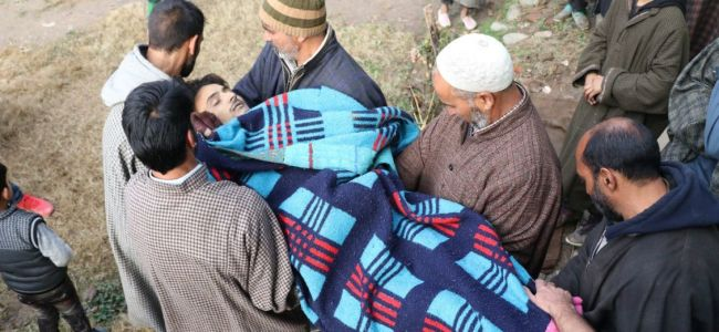 Hizb releases video about killing Shopian youth