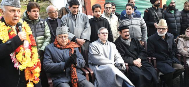 Setback to PDP: Basharat Bukhari, Peer Hussain join National Conference