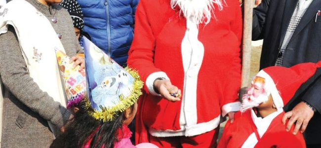 Christmas celebrated with religious fervour in Valley