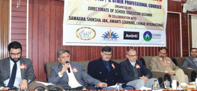 Local IAS officers need to serve the state, its people: Khursheed Ganai