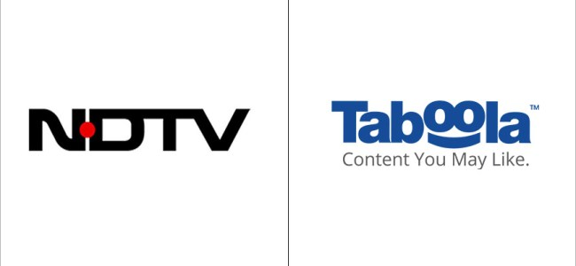 NDTV signs over Rs 300-cr deal with Taboola
