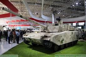 China puts into service its new lightweight battle tank