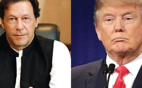 Trump gives in, writes to Imran Khan