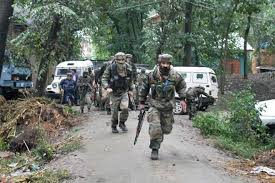 Three Hizb militants killed in Tral gunfight, ops over