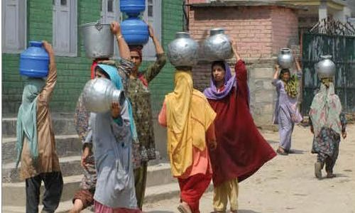 Shopian villages face acute shortage of potable water
