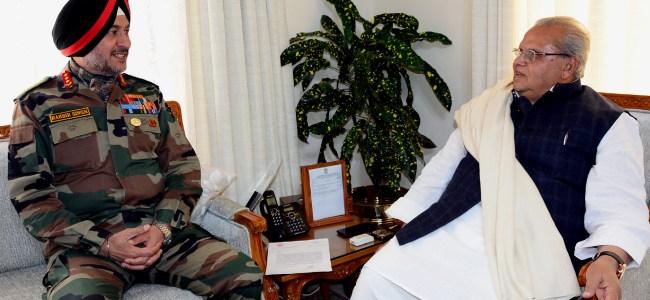 Northern Army commander meets Guv Malik