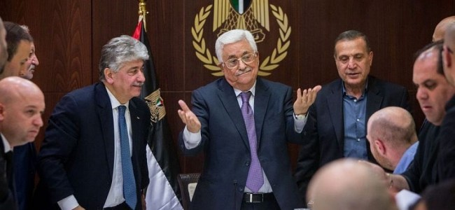 Palestinian government 'submits resignation' to Abbas