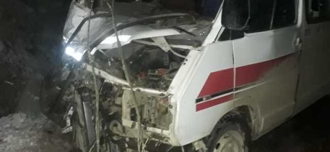 Six among Ambulance driver injured in Pattan mishap