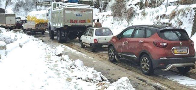 Disruption becomes the order on Jammu-Srinagar NH