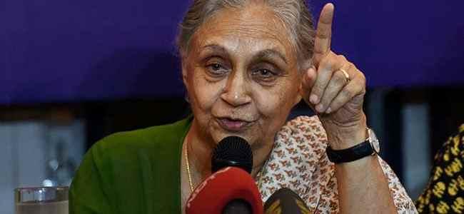 Sheila Dikshit is new Delhi Congress chief