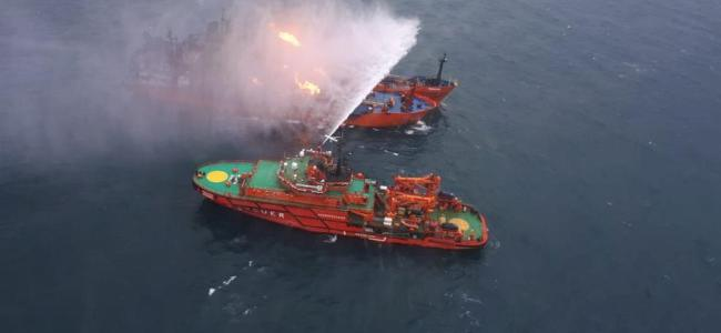 Search resumes for sailors missing in Kerch strait ship accident