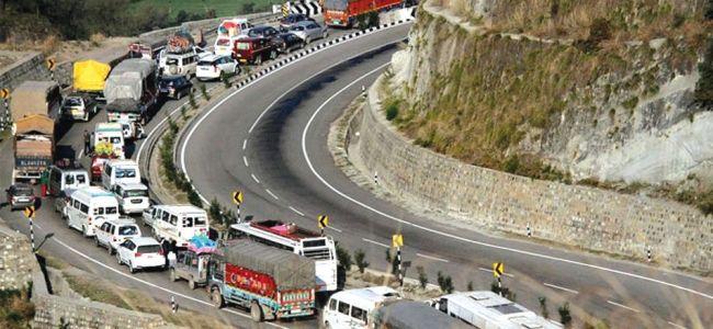 Over 5,000 vehicles stranded on Jammu-Srinagar highway due to landslides: Officials