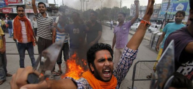 RSS Leader killing: Jammu High court suspends day's work, Jammu University students protest