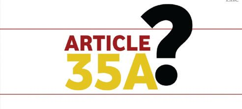 Defending Article 35-A: Shutdown called by separatist's hits normal life