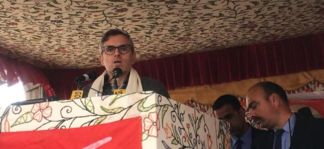 Centre compelling us to 'bid adieu' to politics: Omar Abdullah