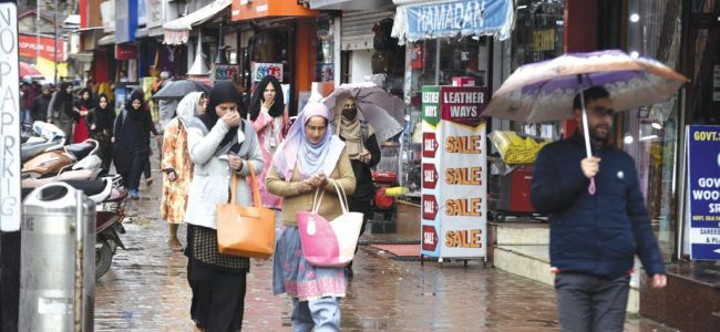 Weatherman forecasts wet spell in next 24-36-hours