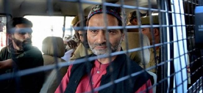 PSA on Yasin Malik is 'travesty of democracy, human rights': JKLF