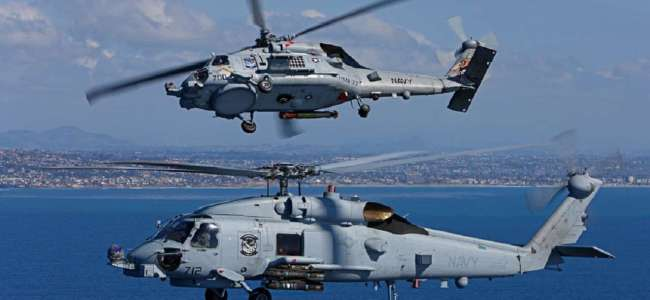 US approves sale of 24 MH 60 Romeo Seahawk helicopters to India for USD 2.4 bn