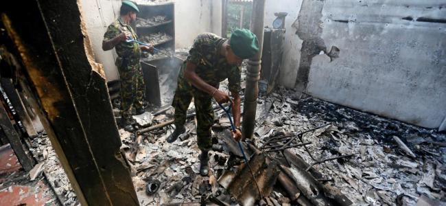 140 killed, over 400 injured as blasts hit three churches, three five-star hotels in Sri Lanka