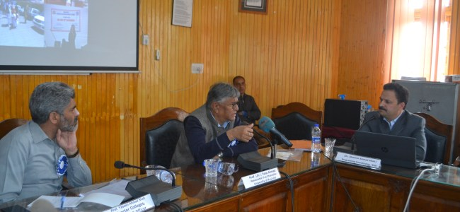 VC KU Prof Talat chairs NSS review meeting of institutional heads